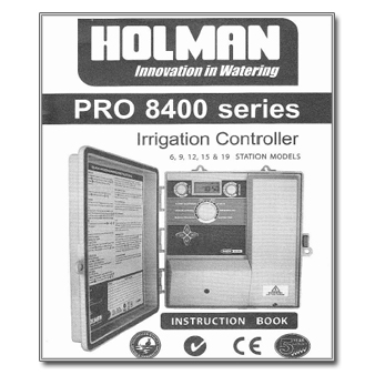 holman pro 469 controller manual