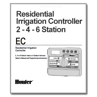 hunter ec residential the watershed official controller hunter sprinkler system manual pro c hunter sprinkler system manual start