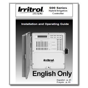 Kwikdial Irritrol manual